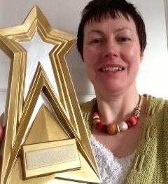 Rachel Cochrane with Joseph Skipsey Award 2013