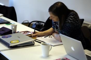 Macmillan Coworking Day by Francesca Dent